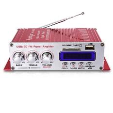 Kentiger Permainan Kucing-400 Hi-fi Stereo Audio Bass Penguat Daya With Tampilan LCD FM-Internasional