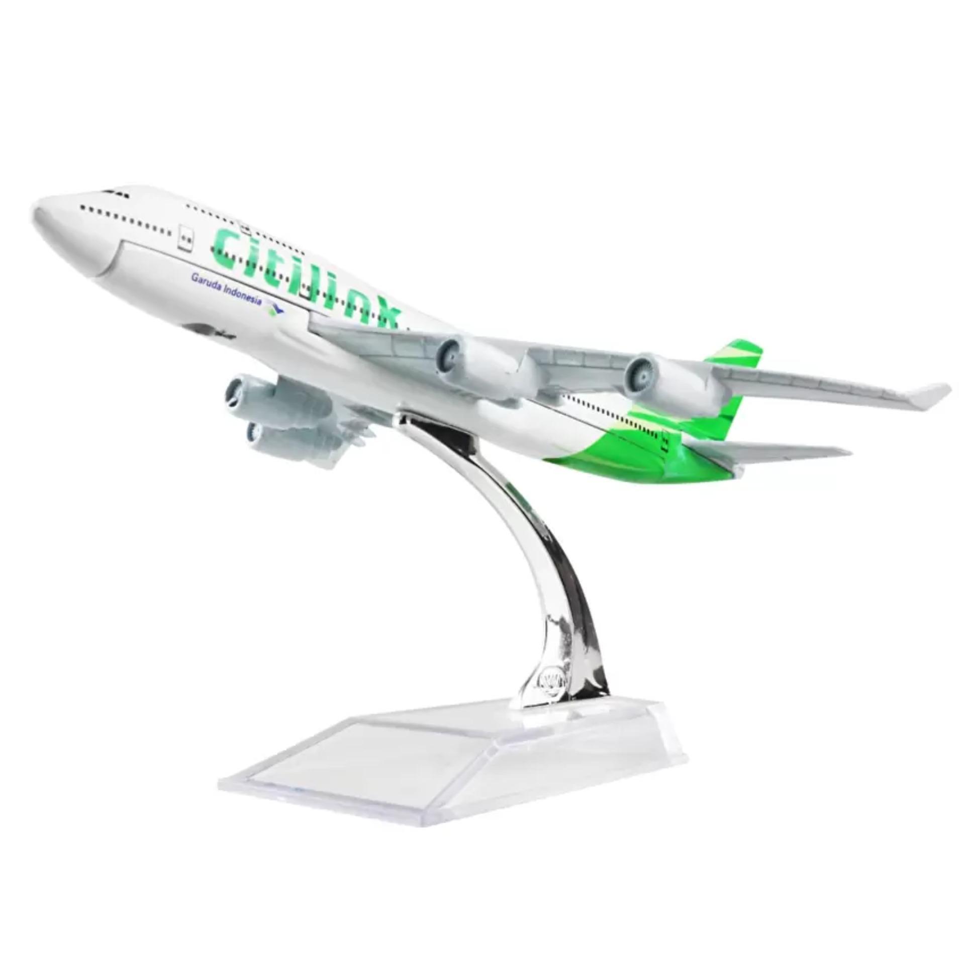 Jual Kenz Mainan Koleksi Anak Miniatur Pesawat Citilink Import