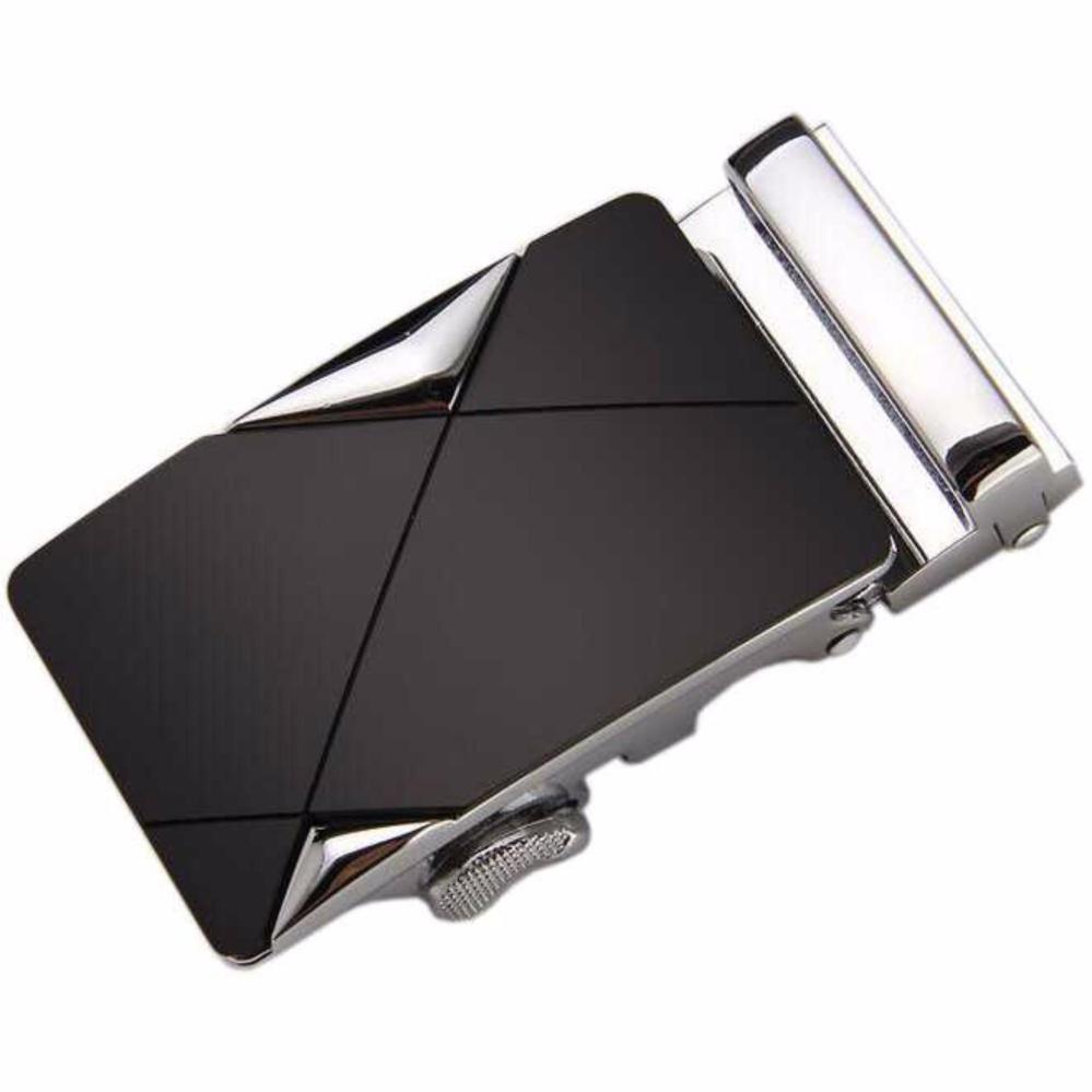 Harga Kepala Gesper Ikat Pinggang Belt Buckles Metal 3 Model S3428 Black Branded
