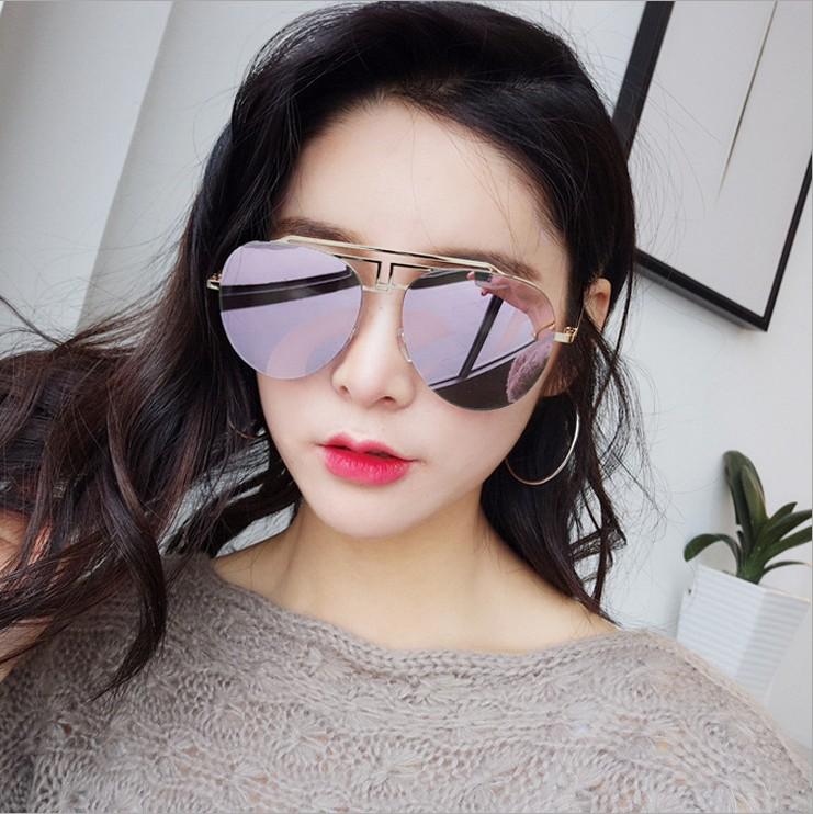 Beli Kepribadian Merah Ayat Yang Sama Face Lift Retro Kacamata Hitam Kacamata Hitam Pasang Kacamata Hitam Kacamata Hitam Online Murah