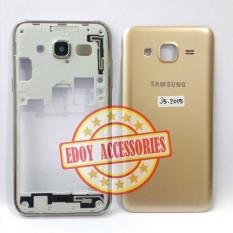 Kesing Samsung Galaxy J5 2015 GOLD - J500 J500F J500G J500H - Chasing Casing Housing Fullset