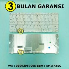 Keyboard Laptop ORIGINAL Acer 532 532H D255 D257 D260 D270 521 522 (White / Putih)
