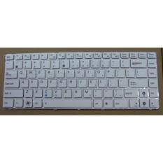 Keyboard Asus A42 A42j K42 K42D K42J K42F X44 X44H X42 A43 A43E A43U A43SJ K43 X43U A44H A42 Frame - Non Baut - PUTIH.