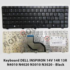 Keyboard DELL INSPIRON 14V 14R 13R  N4010 N4020 N3010 N3020 - Black