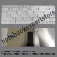 Keyboard For LENOVO Y450 Y550 Y560 B460 V460 Y460 - White