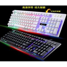 Keyboard Gaming Kabel Murah Promo Lampu LED Warna Warni / Keyboard Wired Murah JK-922