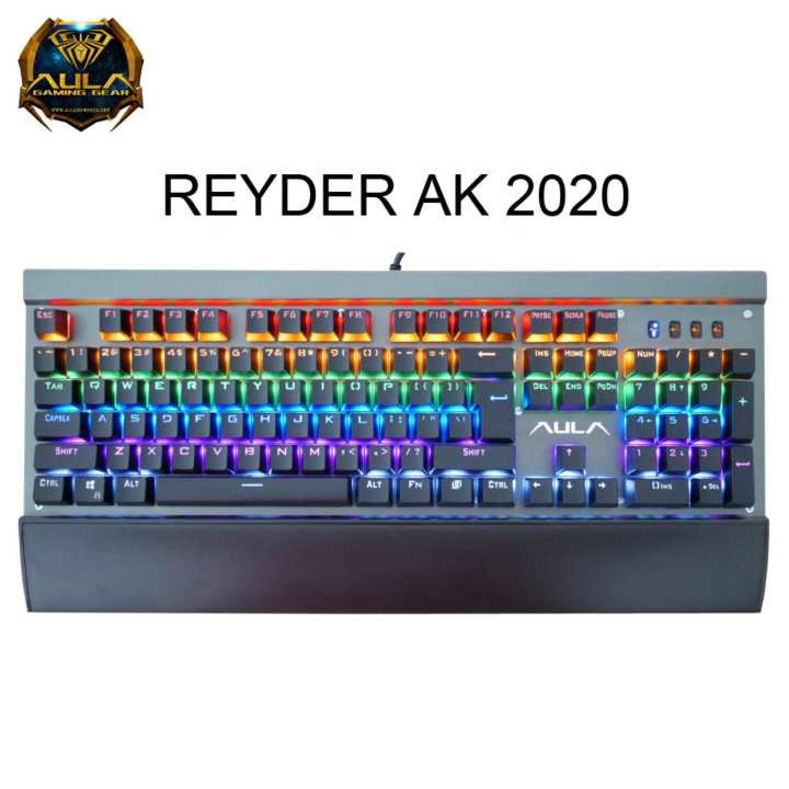 Keyboard Gaming Mechanical Rainbow AULA Reyder AK2020
