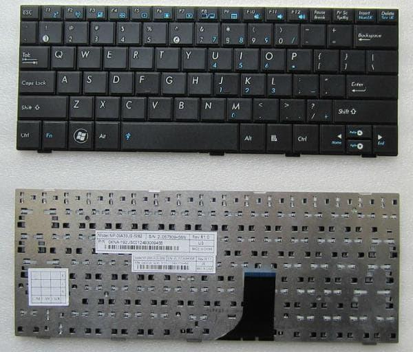 Keyboard Laptop ASUS EPC Eee PC Seashell 1005HA 1005HAB- 1008HA- 1001H