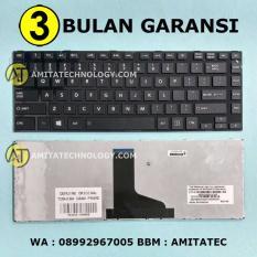Amita - Keyboard Laptop ORIGINAL Toshiba C800 C800D C840 L835 L845 M805 Frame