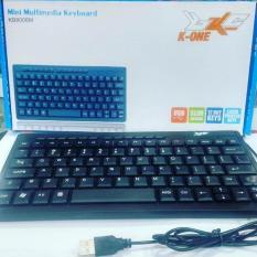 Keyboard Mini Multimedia KB3100 K-ONE