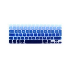 Keyboard Film Pelindung 13.3 Inch untuk Apple MacBook Air MacBook Pro (Eropa Versi Bahasa Inggris Gradient Biru)