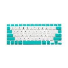 Keyboard Protector 12 Inch untuk Apple MacBook Air MacBook Pro (Putih dan Hijau Candy)
