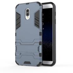 KEYSION Case untuk Samsung Galaxy J7 Plus PC + TPU Coque Tahan Kotoran Kualitas Tas Telepon Kasus untuk Samsung Galaxy C8-Intl