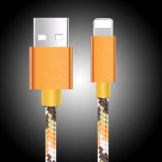 Jual Keysion Usb Kabel Untuk Iphone 7 Kamuflase Nilon Kabel Suntaiho 2 1A Cepat Telepon Kabel Data Usb Charger Untuk Iphone 5 S 6 6 S 7 Plus Intl Termurah