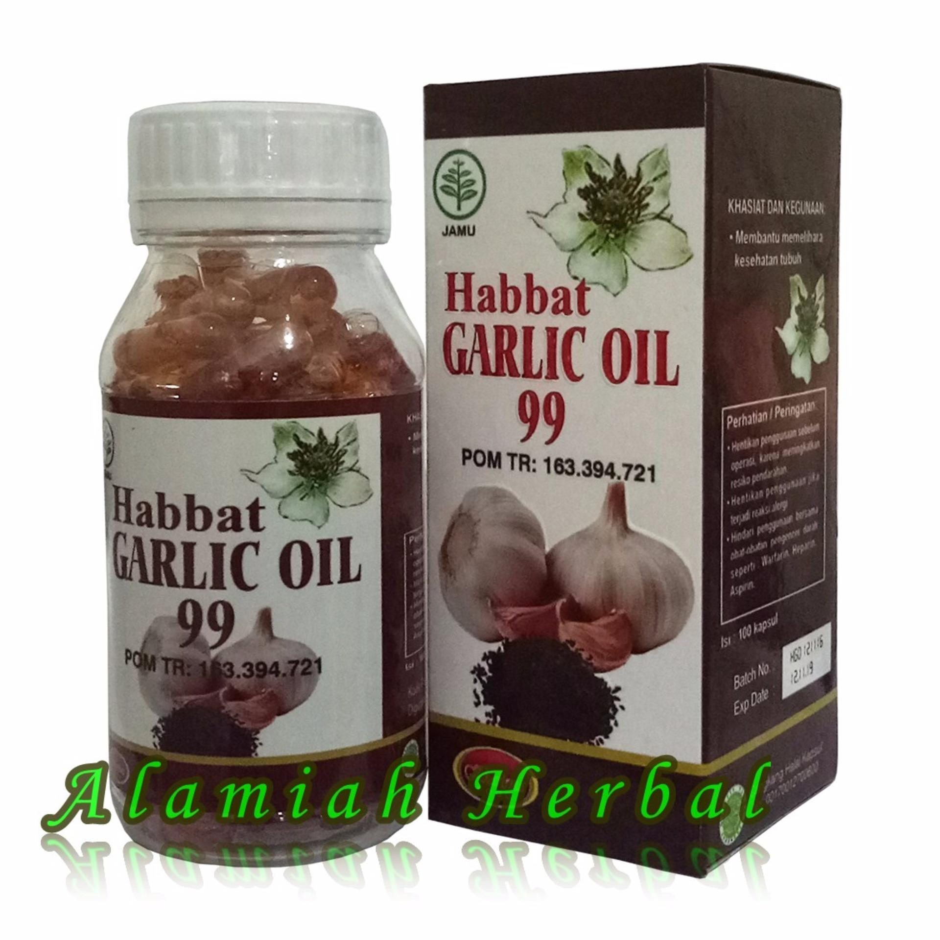 Toko Kharisma Habba Garlic Oil 99 100 Kapsul Terdekat