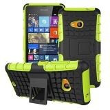Promo Kickstand Hybrid Dual Layer Armor Defender Silicone Keras Case Tahan Guncangan Cover Untuk Microsoft Nokia Lumia 535 Hong Kong Sar Tiongkok