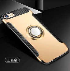 Kickstand Shockproof Protective Cover Work with Magnetic Car Mount for iPhone 8 Plus