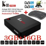 Diskon Produk Kiii Pro 3Gb 16Gb S912 Dvb S2 T2 Android 6 4K Smart Tv Box K3 Pro Intl