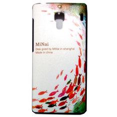 Kimi For Xiaomi Redmi 1S Customize Premium Alumor Casing Expose Light Fluz Back Case - 033