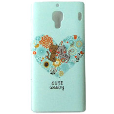 Kimi For Xiaomi Redmi 1S Happening Series Premium Funky Groove Murah Bagus Thin Back Case - 005