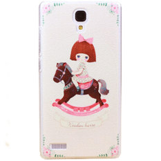 Kimi For Xiaomi Redmi Note Custom Design Gambar Lucu Unik Cantik Stylish Nice Back Case - 014
