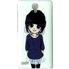 Kimi For Xiaomi Redmi Note Customize Premium Alumor Casing Expose Light Fluz Back Case  - 009