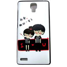 Kimi For Xiaomi Redmi Note Customize Premium Alumor Casing Expose Light Fluz Back Case - 019