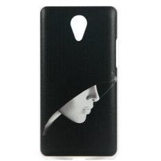 Kimi for Xiaomi Redmi Note Customize Premium Alumor Casing Expose Light Fluz Back Case - 064