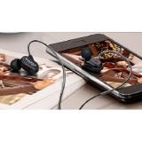 Kinbas Vp790 Universal Headset Earphone With Microphone Black Kinbas Diskon