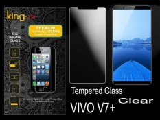 King Zu Glass Anti Explosion H+ Pro Tempered Glass Vivo V7+ - Clear