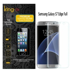 King Zu Glass Tempered Glass for Samsung Galaxy S7 edge Full Clear - Anti Gores Kaca
