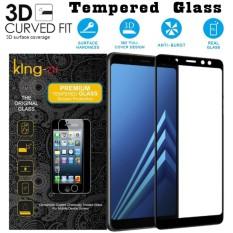 King Zu Pelindung Layar Samsung Galaxy A8 PLUS 2018 FULL Tempered Glass Samsung Galaxy A8 PLUS