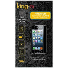 King Zu Screen for Oppo A37 Tempered - Premium Tempered Glass - Rounded Edge 2.5D