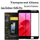 Diskon King Zu Tempered Glass For Asus Zenfone 4 Selfie Pro Anti Gores Hitam Rounded Edge 2 5D King Zu Di Indonesia