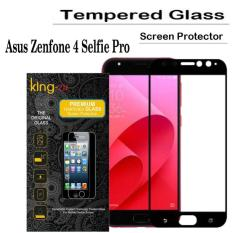 Toko King Zu Tempered Glass For Asus Zenfone 4 Selfie Pro Anti Gores Hitam Rounded Edge 2 5D Termurah