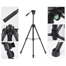 Spesifikasi Kingjoy Vt 1500 166 Cm 5 4Ft Portable Ringan Kamera Video Tripod Dengan Panoramic Damping Head Aluminium Paduan Tabung Max Beban 1 Intl Baru