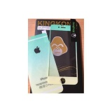 Harga Kingkong Rainbow Green Tempered Glass For Iphone 5 5S Merk Multi