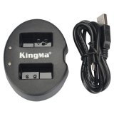 Tips Beli Kingma Dual Battery Charger For Coolpix A Nikon J1 J2 J3 S1 En El20 Black