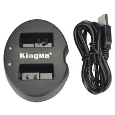 Ulasan Lengkap Kingma Dual Battery Charger For Coolpix A Nikon J1 J2 J3 S1 En El20 Black