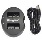 Harga Kingma Dual Battery Charger For Coolpix A Nikon J1 J2 J3 S1 En El20 Black Terbaik