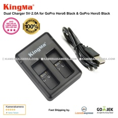 Harga Kingma Dual Charger For Gopro Hero6 Black Gopro Hero5 Black Kingma Terbaik