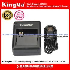 KingMa Dual Charger Original For Xiaomi Yi International / Yi Travel