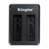 Harga Kingma Dual Desktop Battery Charger For Xiaomi Yi 4K Mark Ii Ver 2 Action Camera Hitam Murah