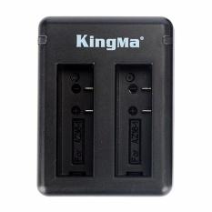Jual Beli Kingma Dual Desktop Battery Charger For Xiaomi Yi 4K Mark Ii Ver 2 Action Camera Hitam