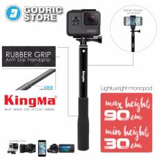 KingMa Tongsis Monopod Original For Action Camera Xiaomi Yi, Brica B-PRO & GoPro Hero - Hitam