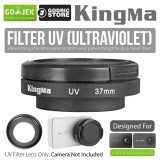 Jual Beli Kingma Uv Filter Lens 37Mm With Cap For Xiaomi Yi 4K 4K Plus Lite