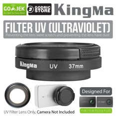Toko Kingma Uv Filter Lens 37Mm With Cap For Xiaomi Yi 4K 4K Plus Lite Lengkap