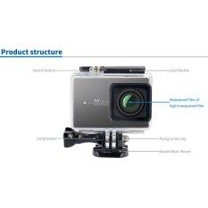 Beli Kingma Waterproof Case For Xiaomi Yi 2 4K Action Camera Online Dki Jakarta