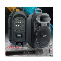 Diskon Kingmax Pa 2000 Speaker Stereo Mini Boogie Box Portable Free Mic Khusus Jabodetabek Branded