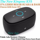Diskon Besarkingone K5S Super Bluetooth Speaker 37 Lebih Bagus Suara Bass Dibanding K5 Biasa Yg Lama Tanpa Komen Chinese Saat Pairing On Hitam